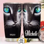3D Cat Art Personalized HHS0211007 Stainless Steel Tumbler