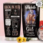 Back In The 1970s Personalized HHS0211008 Stainless Steel Tumbler