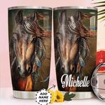 Horse Personalized HHA0211001 Stainless Steel Tumbler