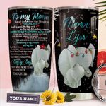 Elephant Mom Personalized THA0211032 Stainless Steel Tumbler