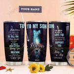 To Lion Son Personalized THA0211035 Stainless Steel Tumbler