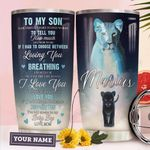 To Lion Son Personalized THA0211036 Stainless Steel Tumbler