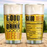 Good Beer KD2 HNM0211001 Stainless Steel Tumbler