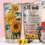 Butterfly Personalized HTC0311002 Stainless Steel Tumbler