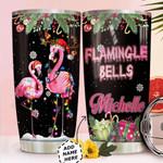 Flamingo Christmas Personalized HTQ0311006 Stainless Steel Tumbler