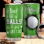 Golf Personalized THA0311025 Stainless Steel Tumbler