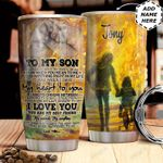 To Son Personalized MDA0311013 Stainless Steel Tumbler