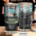 Golf Car Personalized THA0311021 Stainless Steel Tumbler