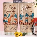 Violin Faith Personalized TTR0311019 Stainless Steel Tumbler