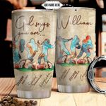 American Football Faith Personalized TTR0311005 Stainless Steel Tumbler