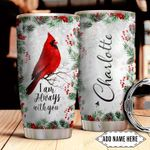 Cardinal Christmas Personalized NNR0311006 Stainless Steel Tumbler
