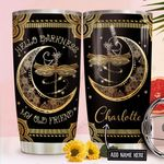 Dragonfly Mandala Personalized NNR0311007 Stainless Steel Tumbler