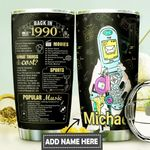 Back In The 1990s Personalized DNS0311007 Stainless Steel Tumbler