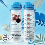 Drummer Personalized NNR0311002 Water Tracker Bottle