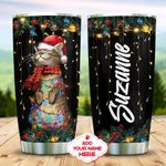 Meowy Christmas Personalized KD2 MAL0311008 Stainless Steel Tumbler