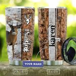 Deer Hunting Lover Personalized KD2 HAL0311003 Stainless Steel Tumbler