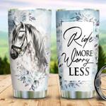 White Horse Worry Less TAZ0311026 Stainless Steel Tumbler