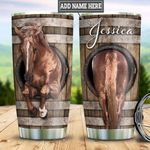 Personalized Wood Horse HLZ0311025 Stainless Steel Tumbler