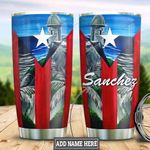 Personalized Puerto Rico Beach HLZ0311019 Stainless Steel Tumbler
