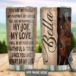 Personalized Horse Message TAZ0311016 Stainless Steel Tumbler