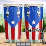 Personalized Puerto Rico Drum HLZ0311021 Stainless Steel Tumbler