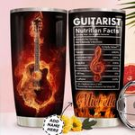 Guitar Fact Personalized HTQ0411004 Stainless Steel Tumbler