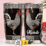 Rooster Personalized HTQ0411009 Stainless Steel Tumbler