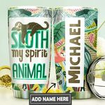 Sloth Spirit Animal Personalized DNS0411012 Stainless Steel Tumbler