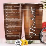 Volleyball Lesson Personalized MDA0411015 Stainless Steel Tumbler