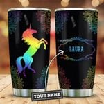 Unicorn Mandala Personalized KD2 ZZL0411013 Stainless Steel Tumbler