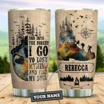 Hiking Skull Personalized KD2 ZZL0411006 Stainless Steel Tumbler