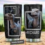 Dinosaur 3D Personalized KD2 ZZL0411005 Stainless Steel Tumbler