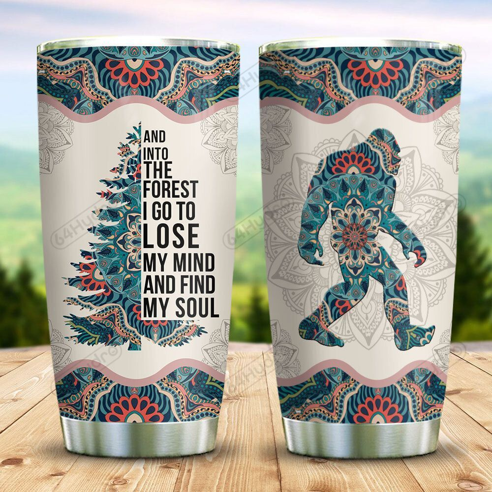 Bigfoot In To The Forest KD2 BGL0411018 Stainless Steel Tumbler
