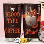 Coffee Dragon Personalized HTR0411016 Stainless Steel Tumbler