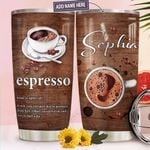 Espresso Personalized TTR0411025 Stainless Steel Tumbler