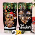 Owl Christmas Personalized HTR0411027 Stainless Steel Tumbler