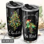 Turtle Christmas Personalized NNR0411029 Stainless Steel Tumbler
