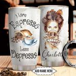 Espresso Personalized NNR0411024 Stainless Steel Tumbler