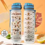 Coffee Personalized NNR0411001 Water Tracker Bottle