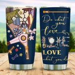 Leather Style Hairstylist KD2 MAL0511008 Stainless Steel Tumbler