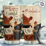 Chicken Personalized HTQ0511004 Stainless Steel Tumbler
