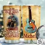 Guitar Personalized HTQ0511005 Stainless Steel Tumbler