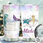 Mermaid Personalized HTC0511011 Stainless Steel Tumbler