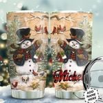 Snow Man Personalized HTQ0511015 Stainless Steel Tumbler