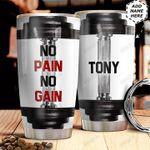 Gym Weight Personalized MDA0511007 Stainless Steel Tumbler