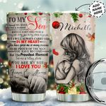 To Son Personalized MDA0511009 Stainless Steel Tumbler
