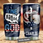 Nation Under God Personalized KD2 HNM0511005 Stainless Steel Tumbler