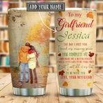 To My Girlfriend Missing Piece Personalized KD2 KHM0511006 Stainless Steel Tumbler