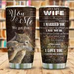 Dear Wolf Wife KD2 KHM0511002 Stainless Steel Tumbler
