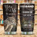 Dear Wolf Husband KD2 KHM0511001 Stainless Steel Tumbler
